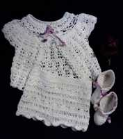 Newborn baby girl set (3 PCs)